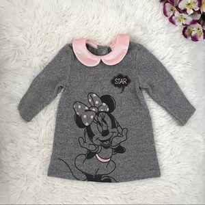 🐭🌸 Disney Baby Girl Sweater Dress 🐭🌸